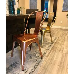 Steel Chair Gold Alps Mountaineering Getaway Set Of 4 Dreux Stack Side Chairs Ls 9000 Lrgld Bizchair Com Our Light Rose Stackable Is On Sale