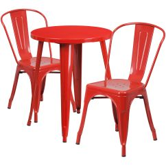 Steel Chair Price In Bangladesh Set Of Four Dining Chairs 24rd Red Metal Table Ch 51080th 2 18cafe Gg
