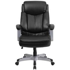 500 Lb Office Chair Gym Pro Hercules Series Big And Tall Rated Black Leather