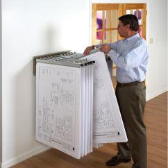 Biz Chair Com Black Leather Slipper Brookside Design Blueprint Storage Pivot Wall Rack With 12