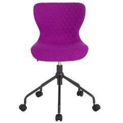 Purple Task Chair Cast Aluminum Chairs Outdoor Fabric Lf 9 07 Pur F Gg Bizchair Com Our Somerset Home And Office Upholstered In Is On Sale Now