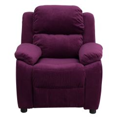 Purple Recliner Chairs Glider Chair Replacement Parts Micro Kids Bt 7985 Kid Mic Pur Gg
