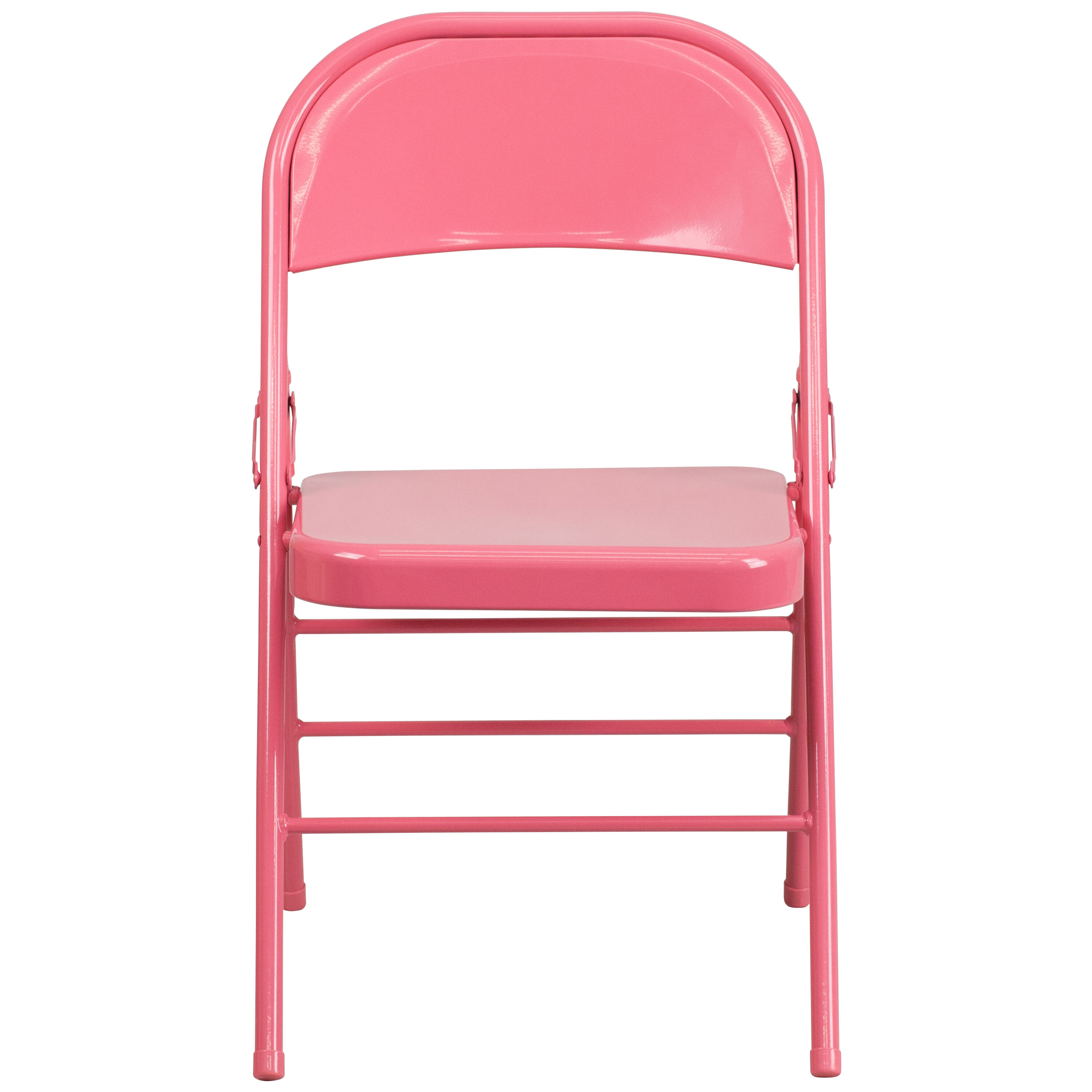 pink folding chair restaurants tables and chairs used for sale bubblegum hf3 gg bizchair