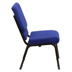 Free Church Chairs Bariatric Rollator Transport Chair Blue Fabric Xu Ch 60096 Nvy Gg Bizchair