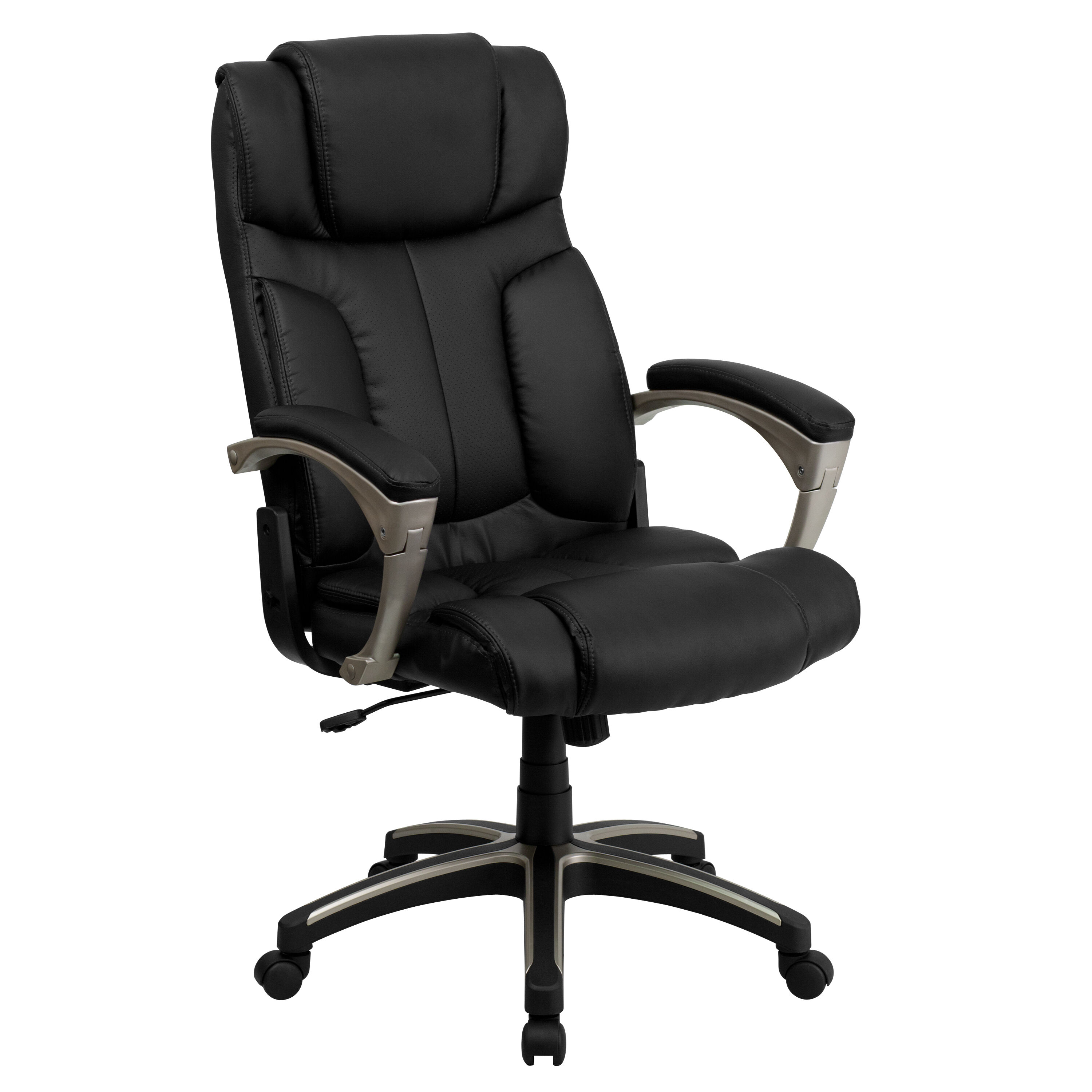 Black High Back Leather Chair BT