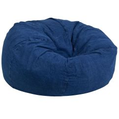 Denim Bean Bag Chair Antique Metal Chairs For Sale Dg Large Gg Bizchair