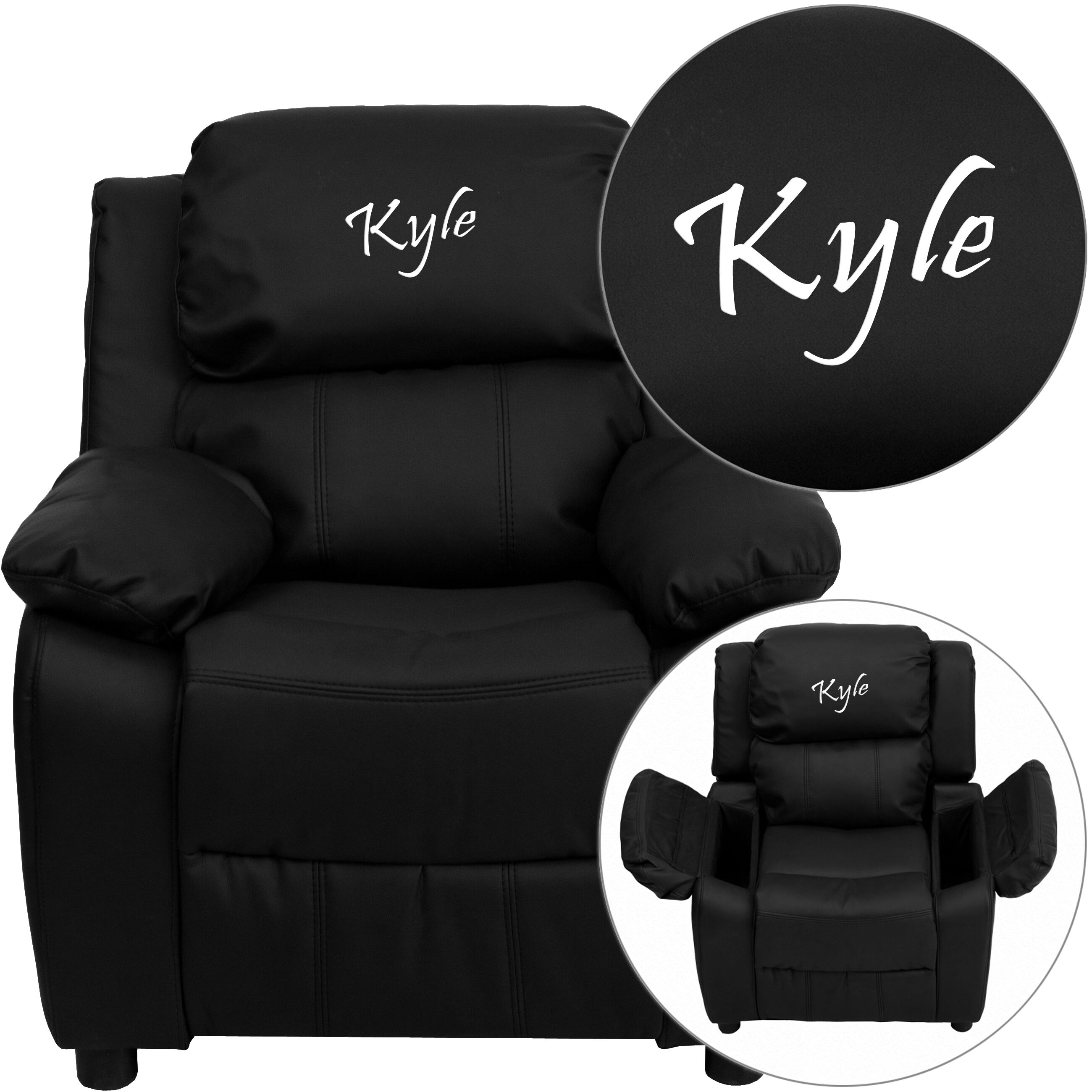 design personalized kids recliners
