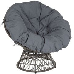 Swivel Patio Chairs Sale Off White Dining Papasan Chair Je 5101w Gg Bizchair Com Our Bowie Comfort Series With Dark Gray Cushion Is On Now