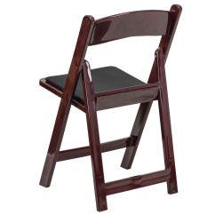 Biz Chair Com Custom Mats Mahogany Resin Folding Le L 1 Mah Gg Bizchair