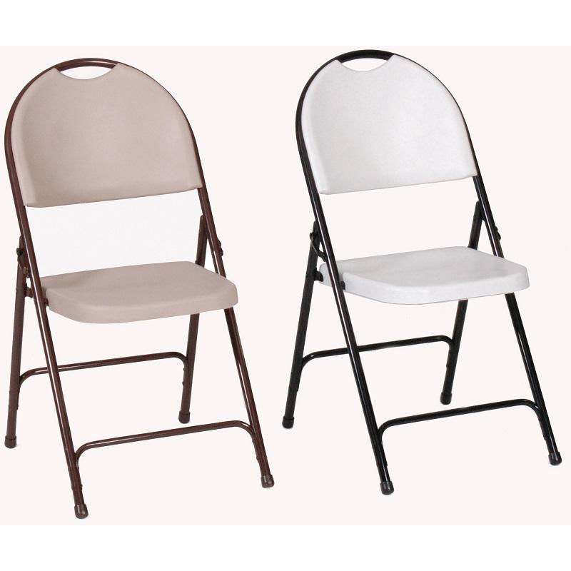 armless folding chair inflatable canada gray plastic rc350 23 bizchair com our with black steel frame and carrying handle granite seat