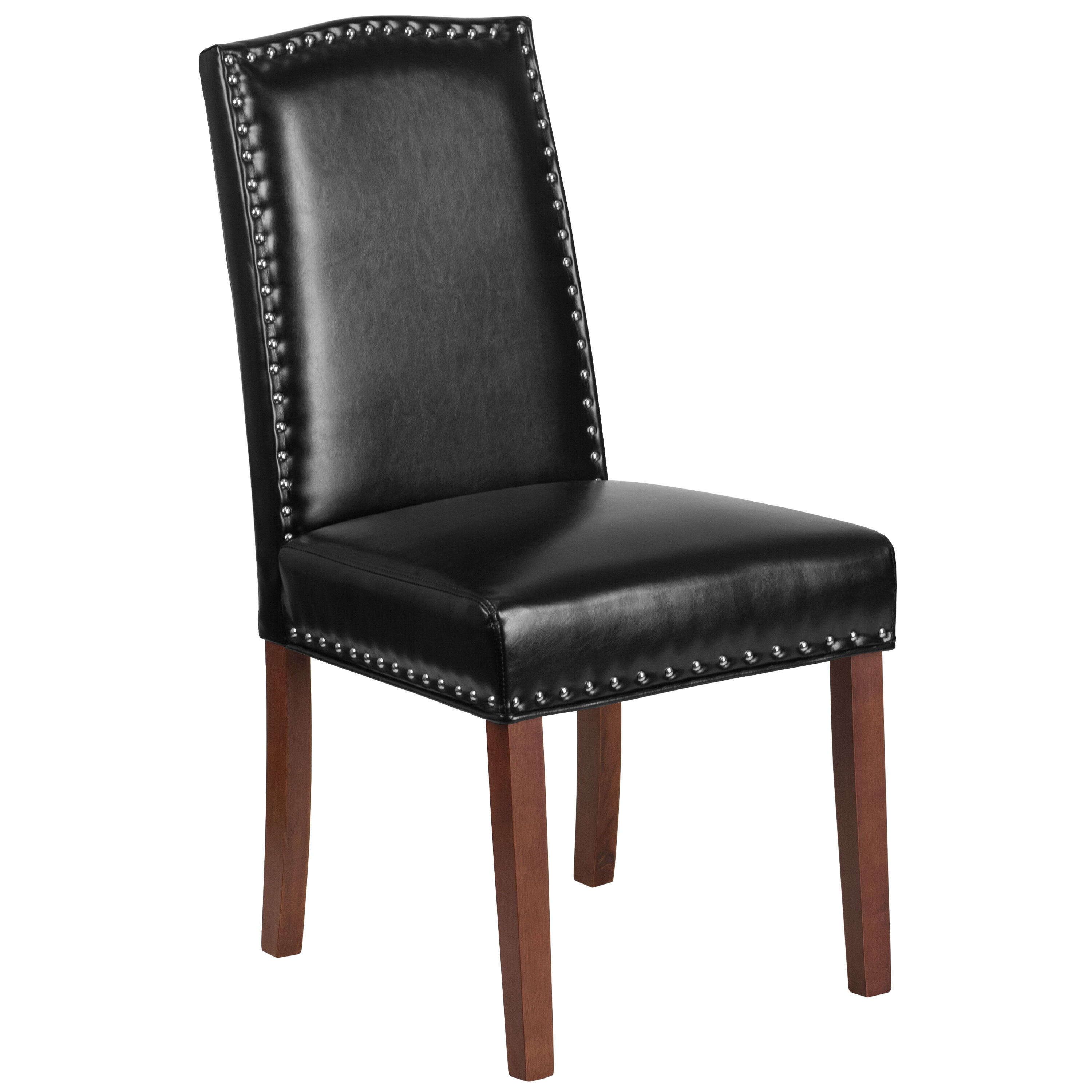 black parsons chair glider toys r us our hercules hampton hill series leather