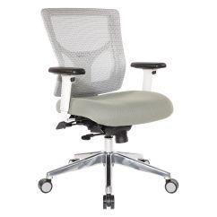 Biz Chair Com White Patio Chairs Pro Line Ii Mid Back 95673 Bizchair