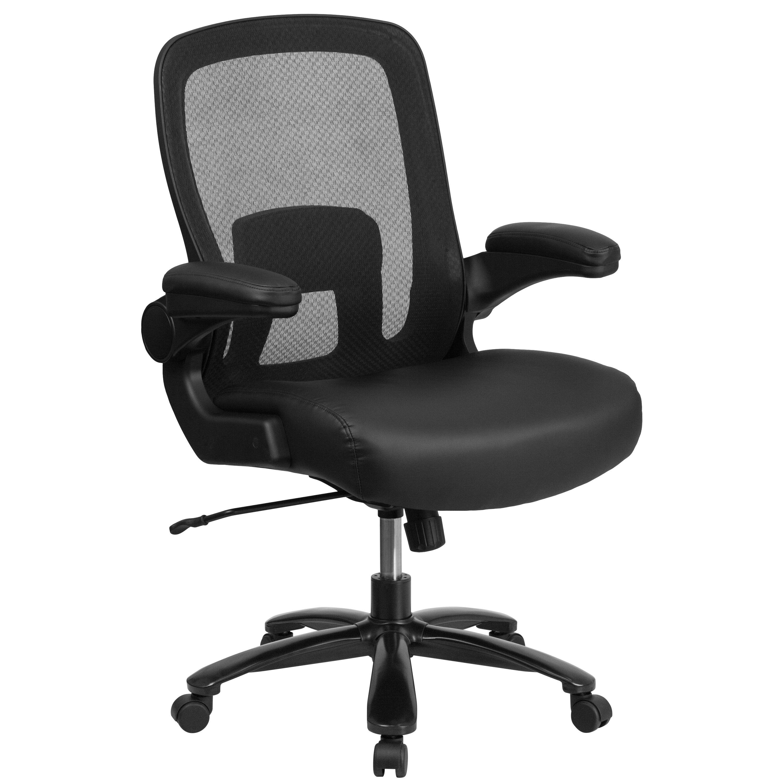 ergonomic chair under 500 steel base with wheels black 500lb high back bt 20180 lea gg bizchair com