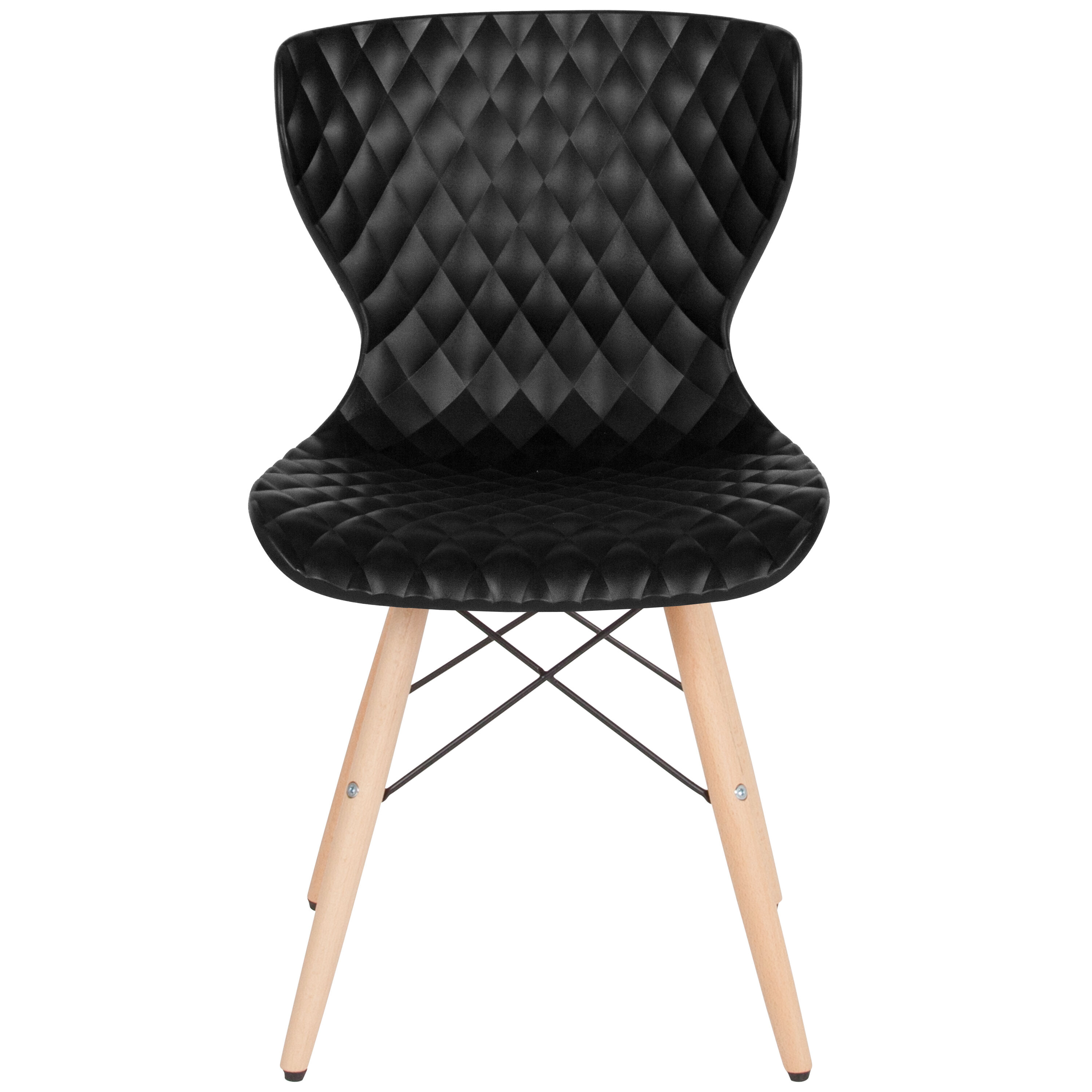 black plastic chair with wooden legs folding vector art bedford contemporary design