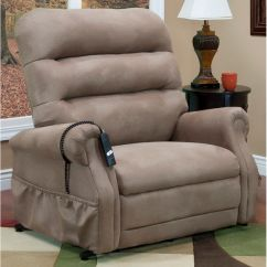 Lift Chair Covers Aniline Leather Lounge And Ottoman Three Way Power Recliner 3653 Stm Bizchair