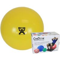 Inflatable Exercise Ball Yellow 30