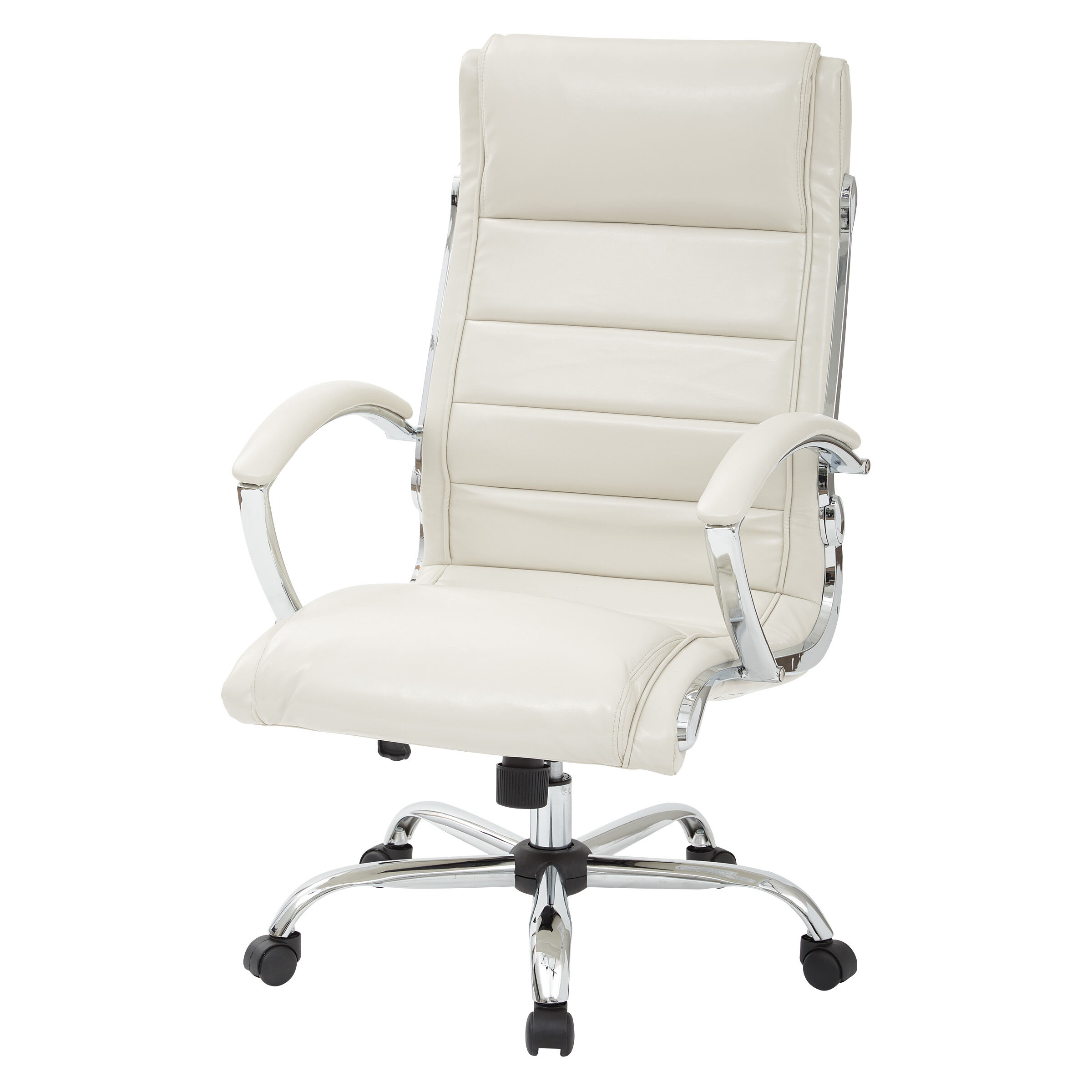 cream padded folding chairs fishing chair uk work smart exec fl1327c u28 bizchair