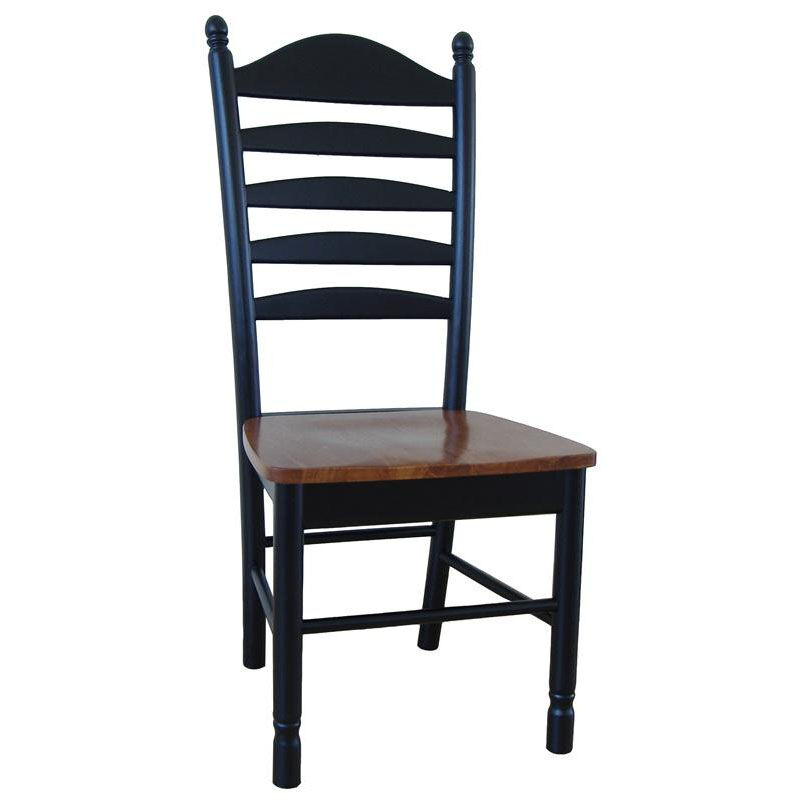 unfinished ladder back chairs upside down chair solid wood bizchair