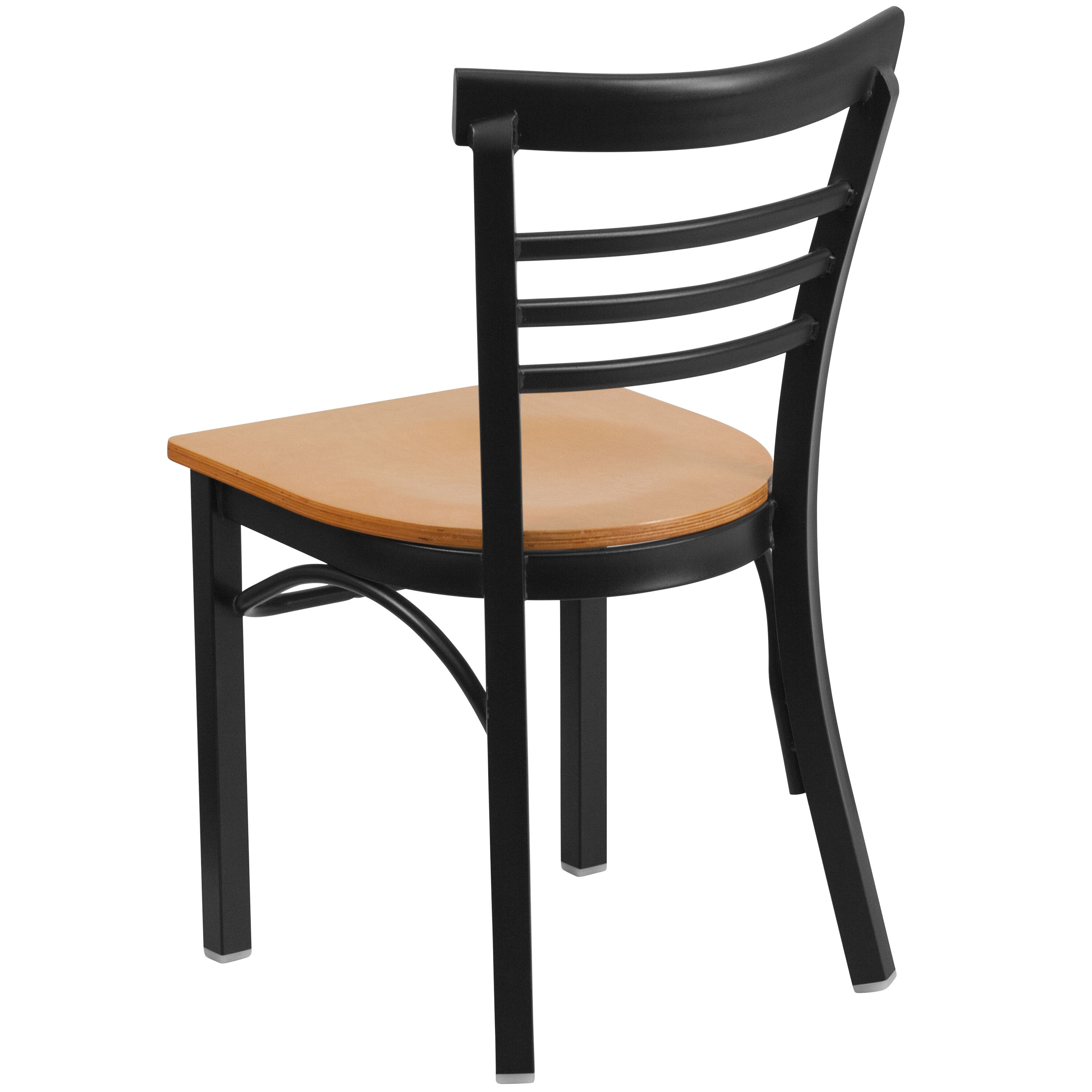 restaurant supply chairs gold dining room t and d equipment black ladder back metal