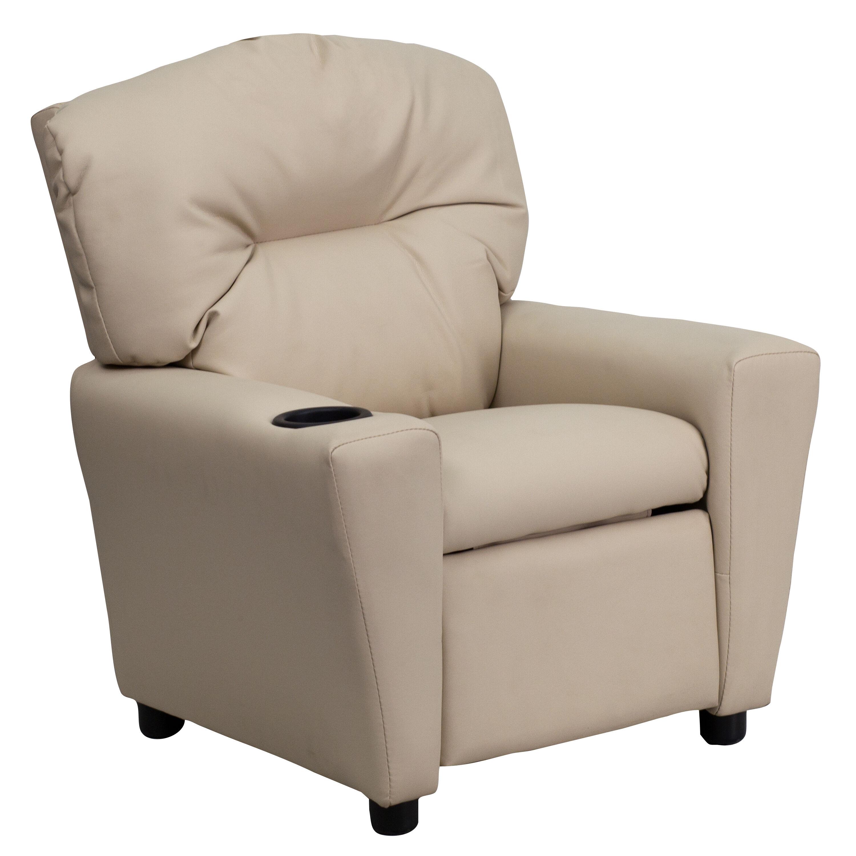 kids tv chair ikea dining covers for sale beige vinyl recliner bt 7950 kid bge gg bizchair com