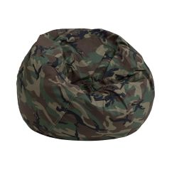 Camo Office Chair How Much Fabric Do I Need For A Camouflage Bean Bag Dg Small Gg Bizchair