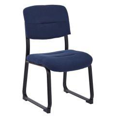Ergonomic Chair Bangladesh Back Support For Pregnancy Work Smart Indigo Guest Fl1033 W17 Bizchair