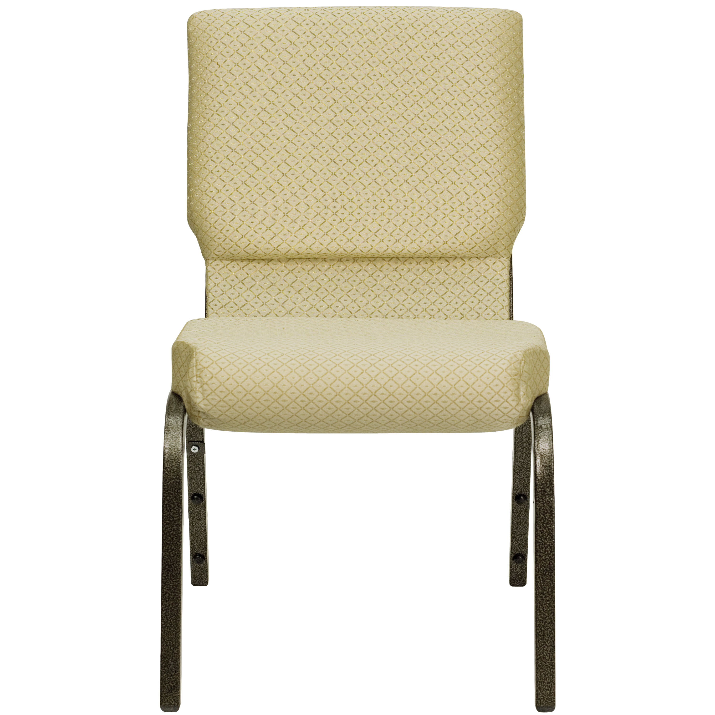 Beige Fabric Church Chair XUCH60096BGEGG  Bizchaircom