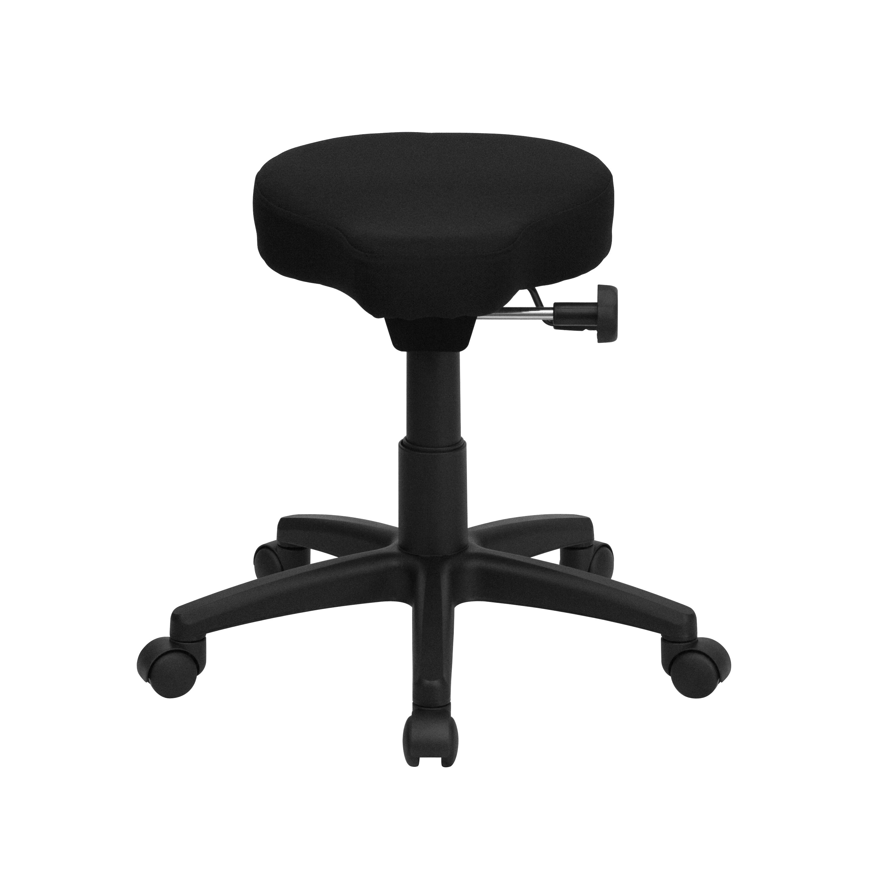 horse saddle office chair step 2 studio art desk with black fabric stool wl 1620 gg bizchair