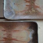 食卓がちょっと贅沢な雰囲気に、備前焼の長方皿