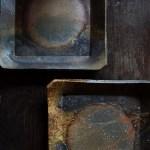 シンプルな料理を美しく魅せる備前焼の角皿