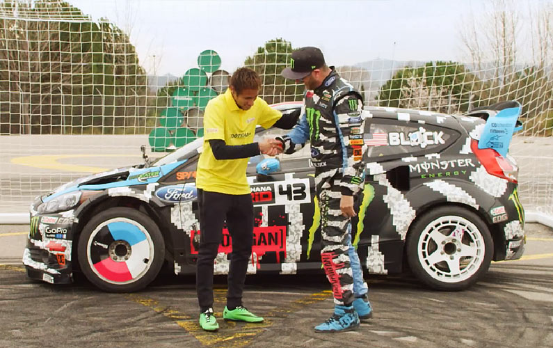 Neymar Jr. vs. Ken Block: Who Wins?