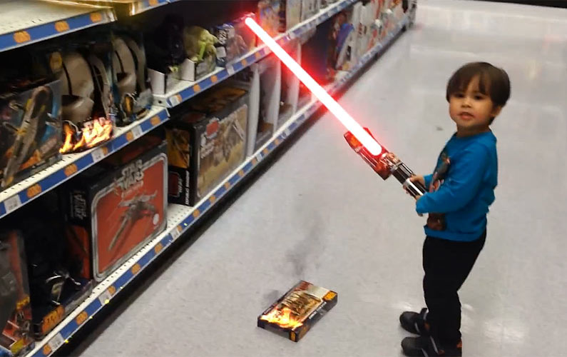 This Dad Uses His Skills to Turn His Kid Into an Action Movie Kid