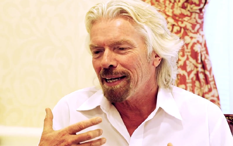 Richard Branson's Secret to Success: Dyslexia