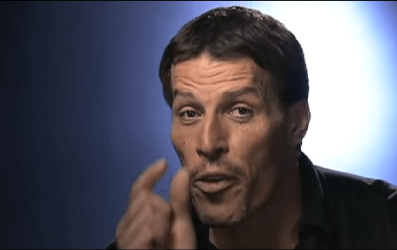 Tony Robbins Talks About One Small Trait That Determines Success or Failure in Life