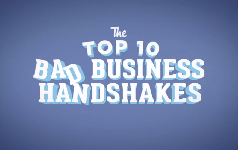 10 Ways to NEVER Shake Another Person's Hand in Business