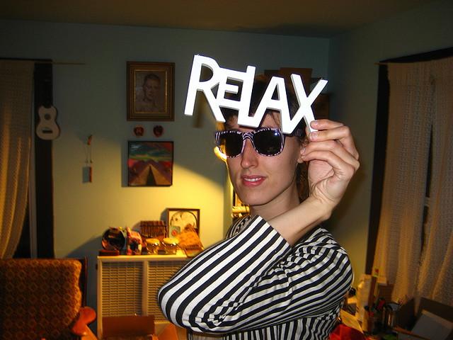 """""""Relax"""" by Luke"""