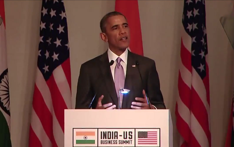 President Obama Announces New Initiatives to Help Entrepreneurs in India