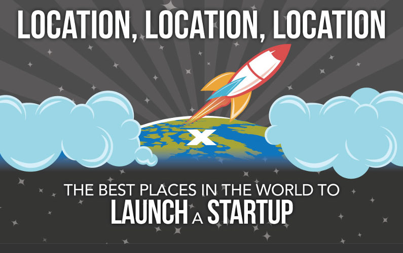 Top 5 Places to Launch a Startup