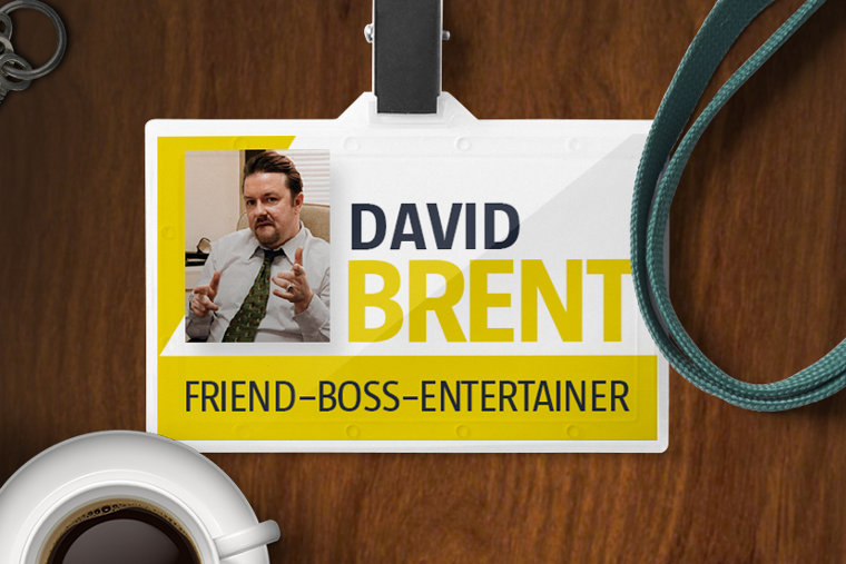 What David Brent's CV Look Like? (Infographic)