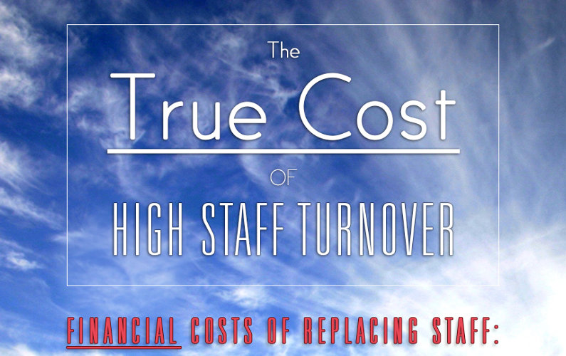 High Staff Turnover: How Costly is it? (Infographic)
