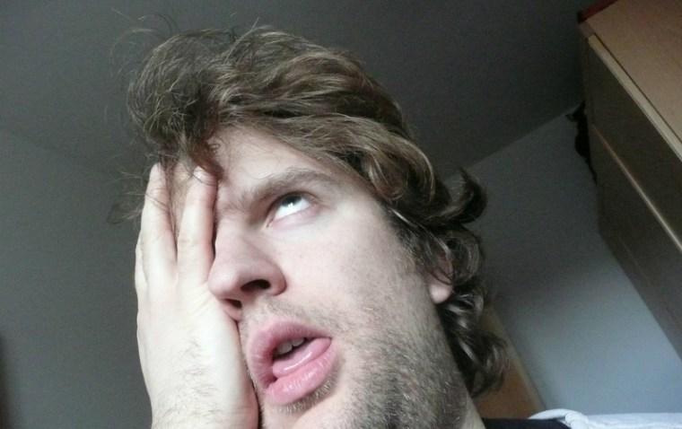 frustrated freelancer