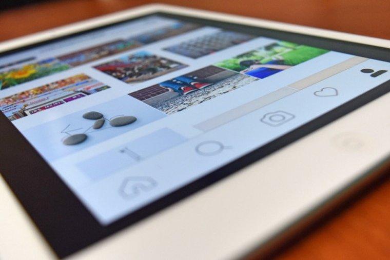 Instagram on smartphone
