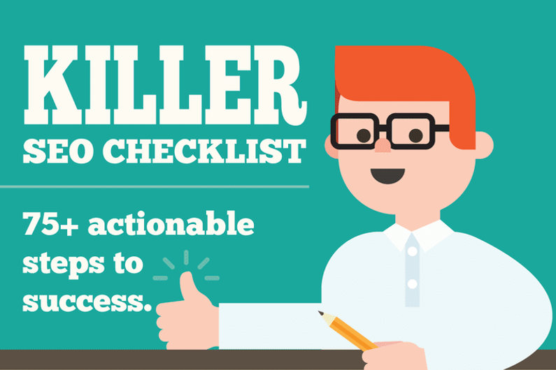 75+ Steps to a Successful SEO Strategy Execution (Infographic)