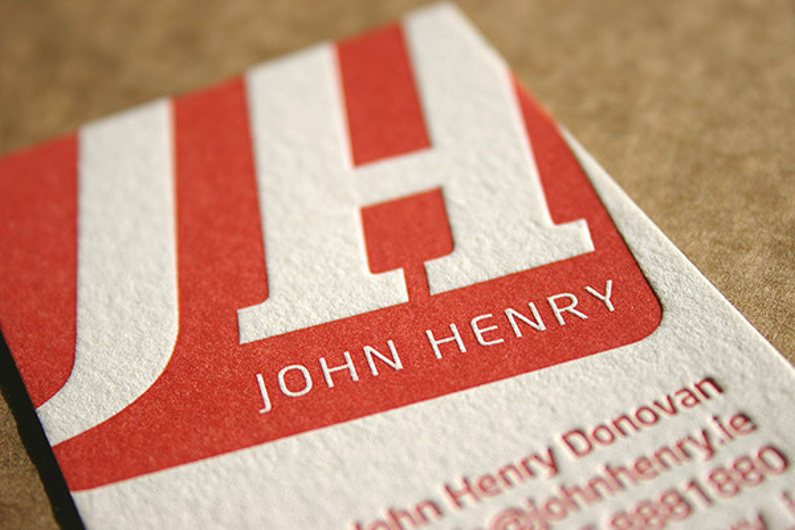 Pros and Cons of Custom Letterpress Business Cards