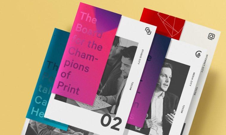Well-designed brochures