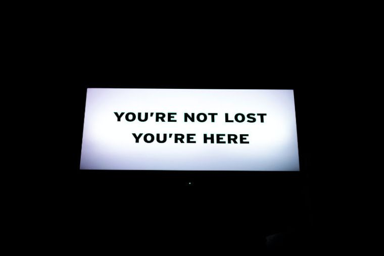 Mindfulness - you're not lost