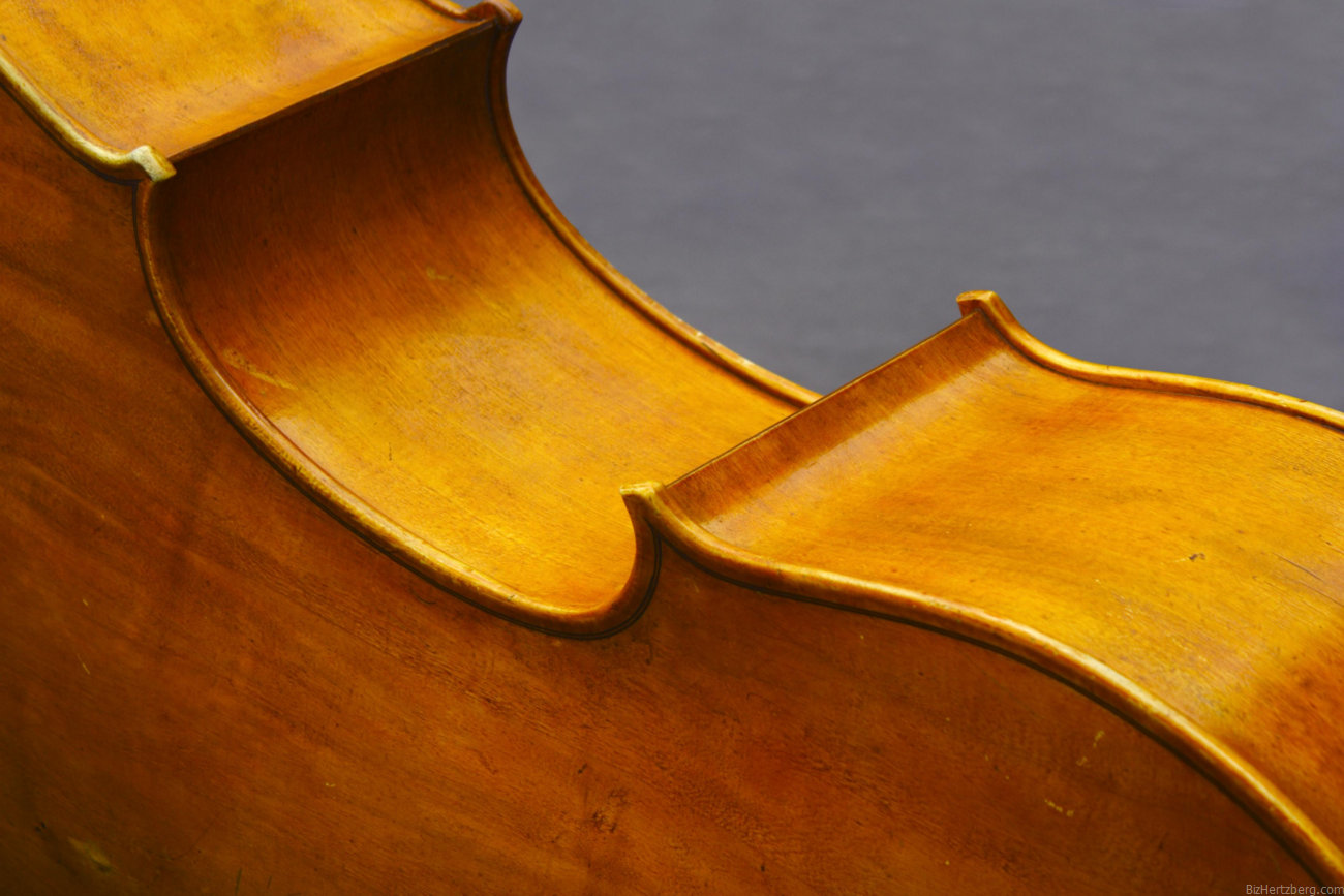 James Hoskins' Howard Needham 2004 cello, imaged 2006