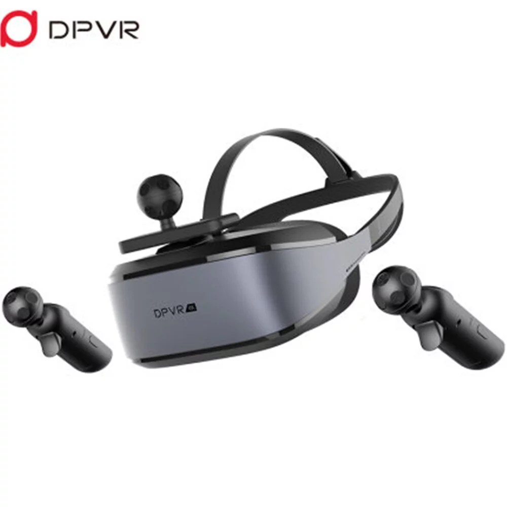 DeePoon PRO E3 4K VR Headset 3D Theater Goggles, Resolution 3840*2160 FHD Screen Virtual Reality System Combine with NOLO CV1