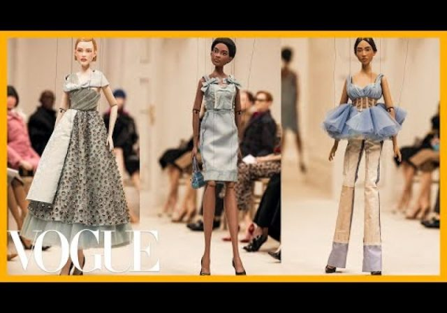 Inside Moschino's Marionette Fashion Show and Being Black in Milan Fashion | Good Morning Vogue