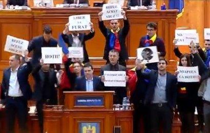 """Vă uimesc ședințele de Consiliu Local de la Târgu Jiu în care oamenii sunt dați afară? Scandaluri au loc și în Parlament: """"Ne luați la bătaie?"""""""
